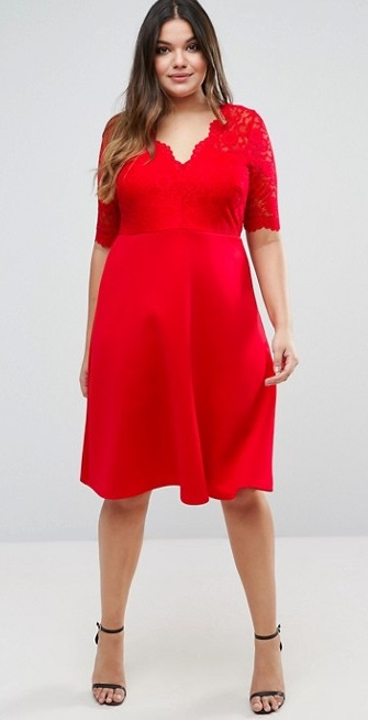 Plus size dresses for attending a wedding